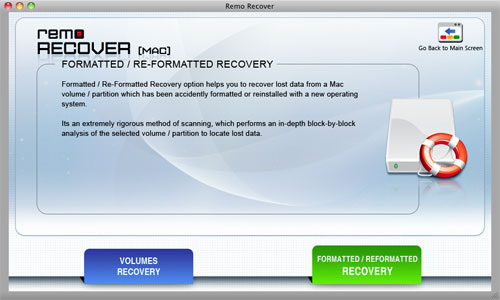 Recover Flash Drive data on Mac - Next Screen